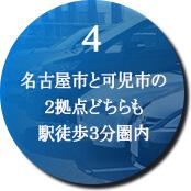 4、駅から徒歩3分 国道41号線そば 駐車場も完備
